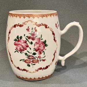 18th Century Chinese Ceramic Tankard