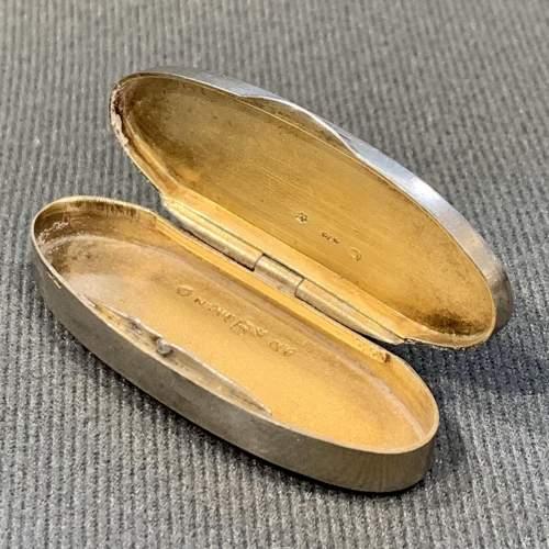 Marius Hammer Silver and Enamel Pill Box image-5