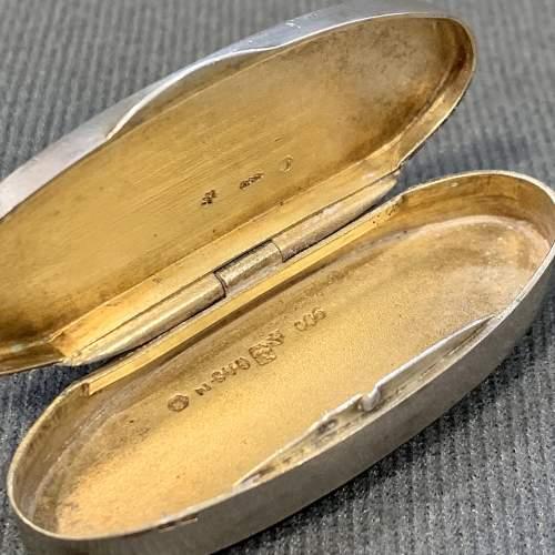 Marius Hammer Silver and Enamel Pill Box image-4