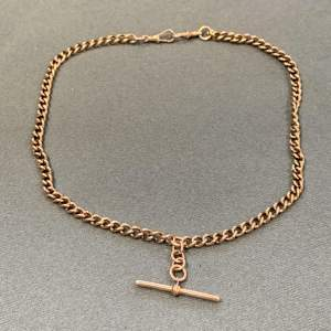 20th Century 9ct Gold 'Albert' Chain Necklace