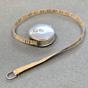 Edwardian Silver Tape Measure