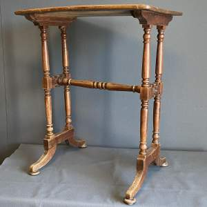 Arts and Crafts Oak Table