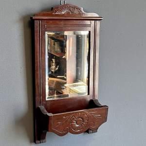 Edwardian Mahogany Hall Mirror