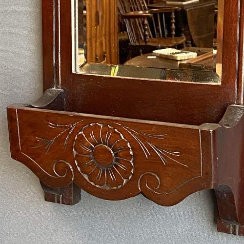 Edwardian Mahogany Hall Mirror image-2
