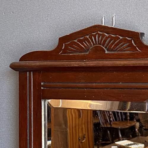 Edwardian Mahogany Hall Mirror image-3