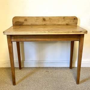 Small Mahogany and Pine Table