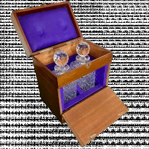 Victorian Mahogany Decanter Box
