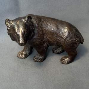 Victorian Bronze Bear