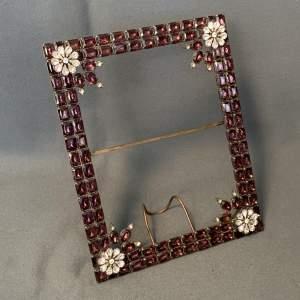 Gilded Swarovski Crystal Frame