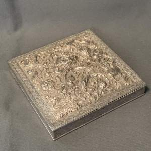 Early 20th Century Signed Silver Isfahan Box