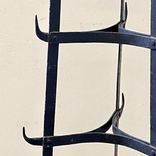 Vintage Seven Tier Strap Iron Pan Stand image-4