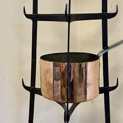 Vintage Seven Tier Strap Iron Pan Stand image-3