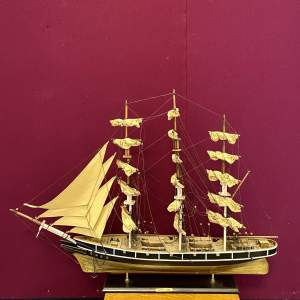 Model of the Cutty Sark Ship