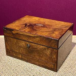Victorian Ladies Fitted Travelling Vanity Case