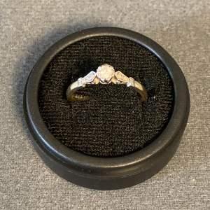 Five Stone Diamond And 18ct Platinum Ring