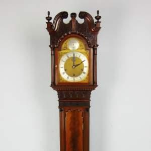 A Fine Quality Mahogany Grandmother Clock