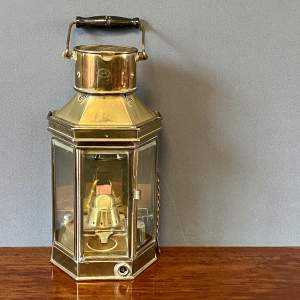 Brass Ships Lamp by Alderson and Gyde