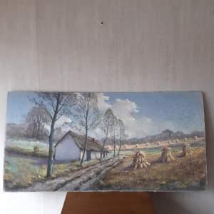 Garstin Cox Signed Pastel - Signed Landscape - Listed Artist