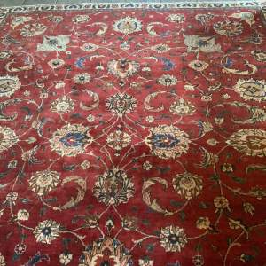 Superb Old Hand Knotted Persian Rug Tabriz Beautiful Colours