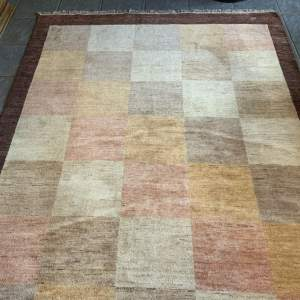 Superb Quality Hand Knotted Persian Rug Gebbeh With Signature