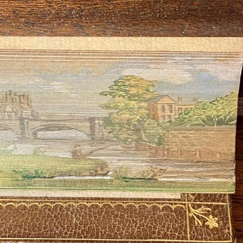 19th Century Fore Edge Painted Book The Works of Lewis Morris image-3