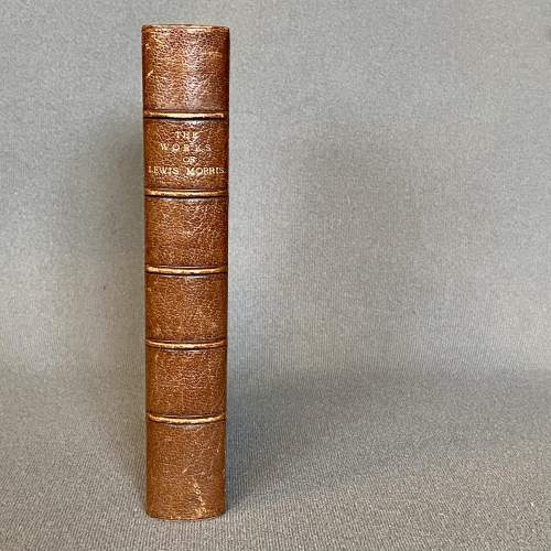 19th Century Fore Edge Painted Book The Works of Lewis Morris image-4