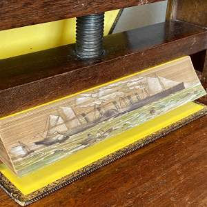 19th Century Fore Edge Painted Book The Poetical Works