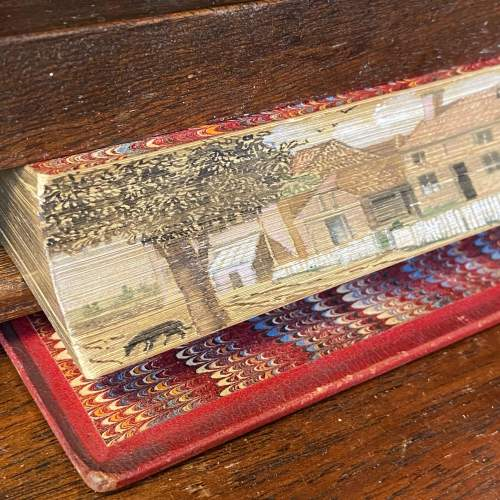 19th Century Fore Edge Painted Hand Book for Young Painters image-3