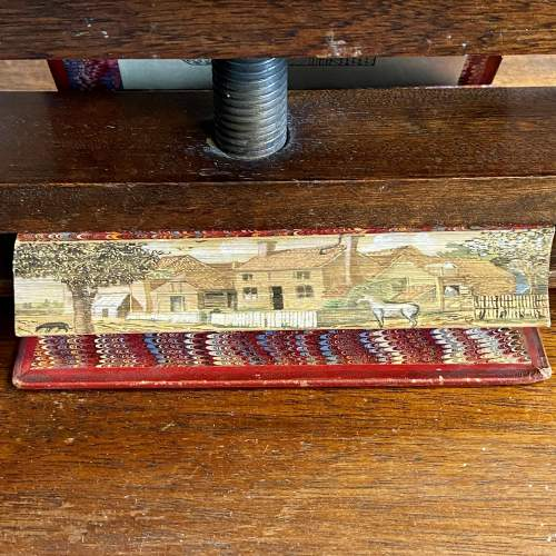 19th Century Fore Edge Painted Hand Book for Young Painters image-4