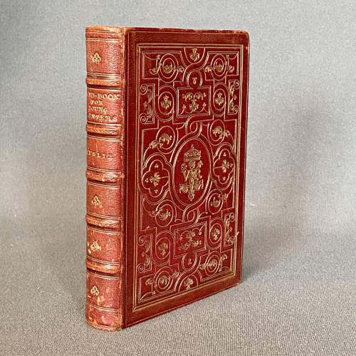 19th Century Fore Edge Painted Hand Book for Young Painters image-5