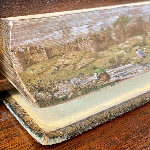 19th Century Fore Edge Painted Book Wordsworth, C. Poetical Work image-2