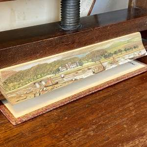 19th Century Fore Edge Painted Book The Lord of the Isles
