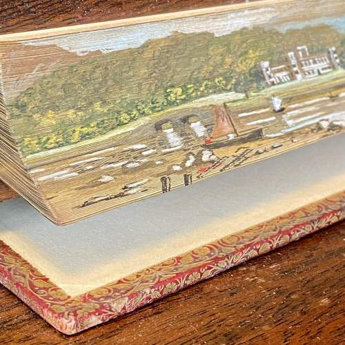 19th Century Fore Edge Painted Book The Lord of the Isles image-2