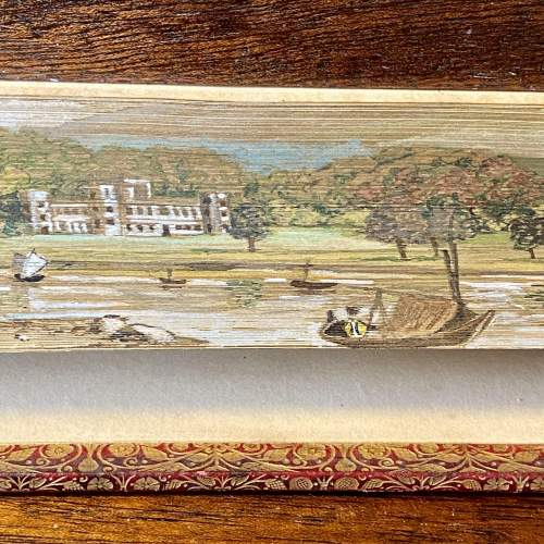 19th Century Fore Edge Painted Book The Lord of the Isles image-3