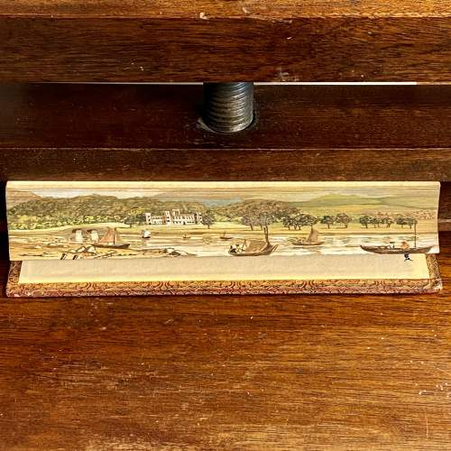19th Century Fore Edge Painted Book The Lord of the Isles image-4