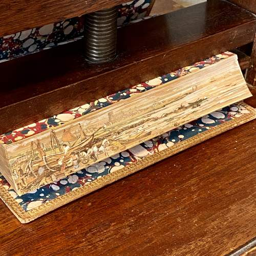 19th Century Fore Edge Painted Book Lectures on Modern History image-1