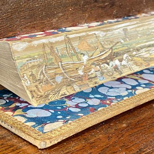 19th Century Fore Edge Painted Book Lectures on Modern History image-2