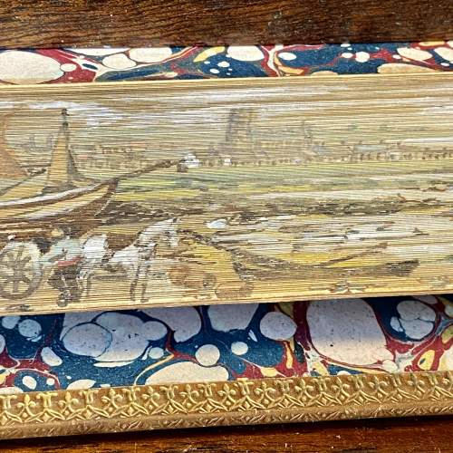 19th Century Fore Edge Painted Book Lectures on Modern History image-3