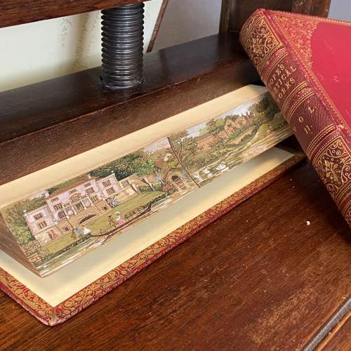 19th Century Fore Edge Painted Book The Poetical Works image-1