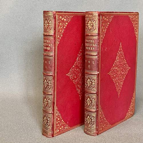 19th Century Fore Edge Painted Book The Poetical Works image-4