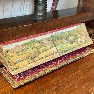 19th Century Fore Edge Painted Book Carthage & the Carthaginians