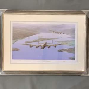 Framed Print - Eight Merlins Over Windermere