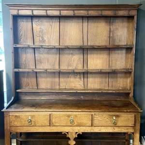 18th Century Small Oak Dresser