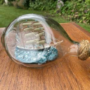 A Three Mask Ship In A Bottle - The Argyll