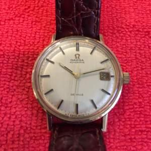 Omega 9ct Gold De-Ville Seamaster Gents Wristwatch