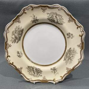 19th Century Spode Plate