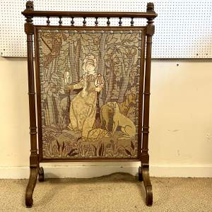 20th Century Large Tapestry Fire Screen