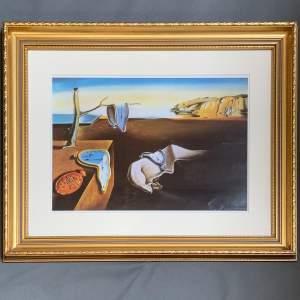 Salvador Dali - Surrealist Melting Clock - Print