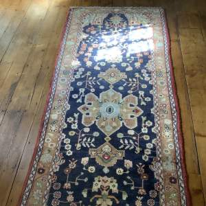 Superb Quality Old Hand Knotted Persian Runner - Hamadan Area