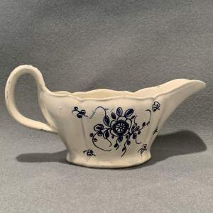 18th Century Georgian Pearlware Pottery Sauce Bowl
